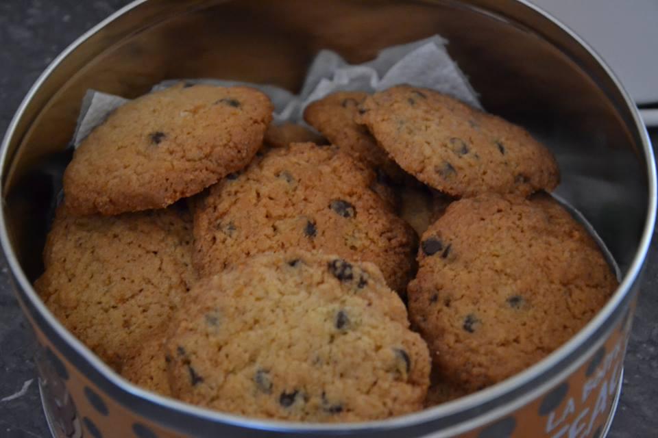 cookies aux pépites de chocolat (maëvab) - recette cuisine companion