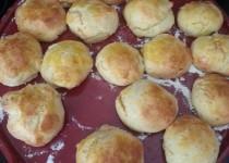 Scones cheddar parmesan poulet (Sihnoh)