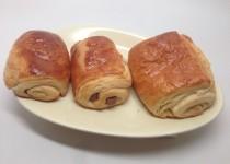 Pains au chocolat – pâte feuilletée levée – méthode escargot (SoniaB)
