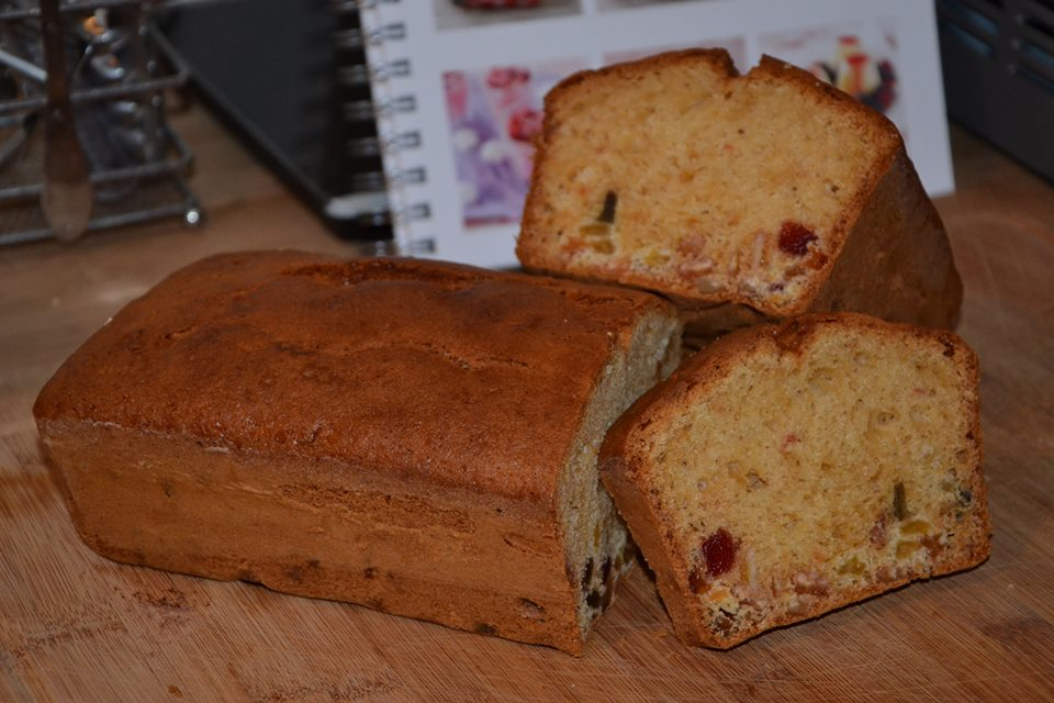 cake aux fruits confits ma vab recette cuisine companion. Black Bedroom Furniture Sets. Home Design Ideas