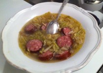 Potée de chou et saucisse de Morteau (VeroniqueB)