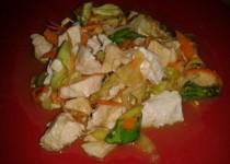 Salade de poulet asiatique (Lia022)