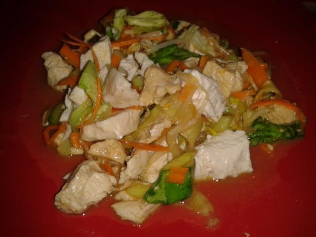 salade de poulet asiatique lia022 recette cuisine companion. Black Bedroom Furniture Sets. Home Design Ideas