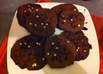 Cookies chocolat version light (Delph)