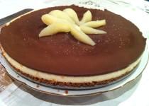 Entremet poire chocolat (Ginidec74)