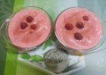 Frozen yogurt framboise (SéverineS)
