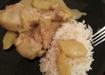 Curry de poulet aux pommes (Sihnoh)