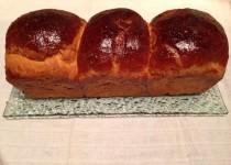 Brioche adaptée d'une recette «Fou de pâtisserie» (Valvanille)