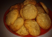 Cookies au chocolat blanc et cerneaux de noix (SandraC)
