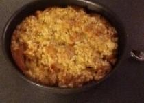Gâteau streusel aux pommes (Lilo)