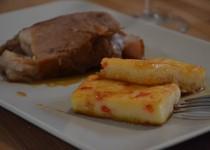 Polenta aux poivrons (MaëvaB)