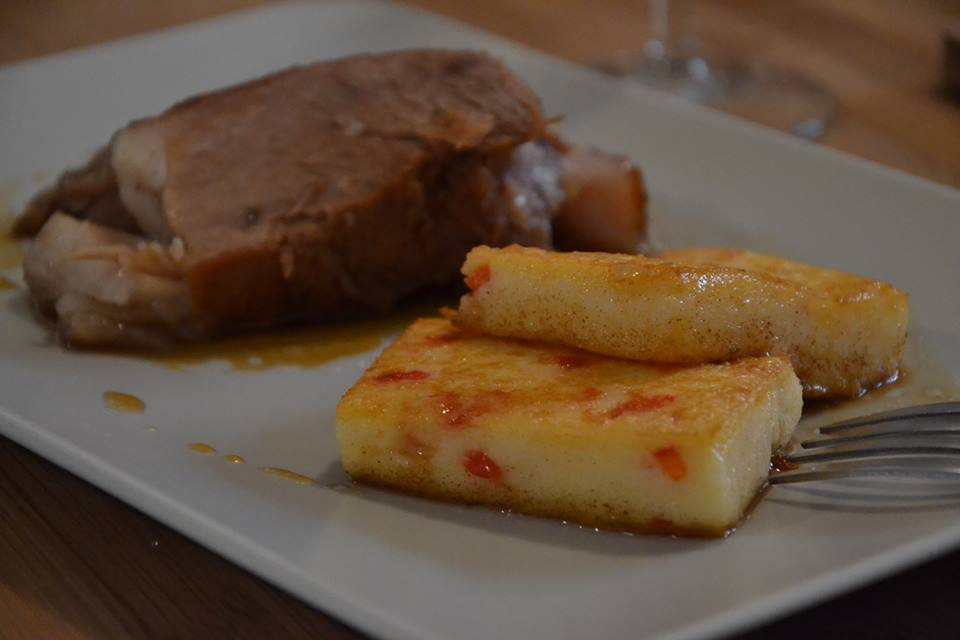 polenta aux poivrons ma vab recette cuisine companion. Black Bedroom Furniture Sets. Home Design Ideas