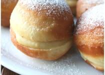 Boules de Berlin à la crème pâtissière (Alex)