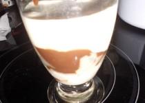 Tiramisu poire chocolat avec biscuit de Reims (Matleotim)