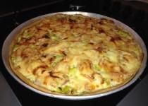 Quiche poireaux, lardons et maroilles (Valérie Cuisine)