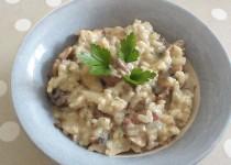 Risotto aux champignons et bacon (ClaireLG)