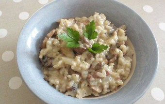 risotto-champignons-bacon-clairelg