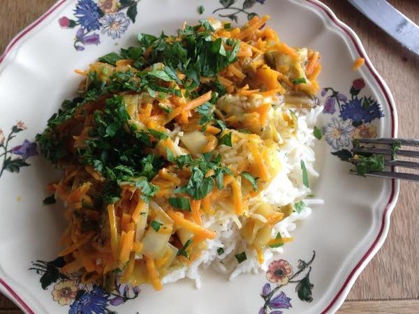 Riz aux l gumes dani recette cuisine companion - Peut on donner du riz cuit aux oiseaux ...