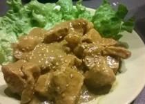 Curry de porc au lait de coco (SandraC)