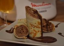 Crêpes roulées chocolat/café (MaëvaB)
