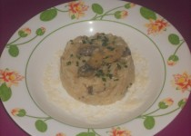 Risotto thon et champignon (Johanna)