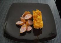 Ragoût de pommes de terre aux saucisses fumées (Jujulacreole)