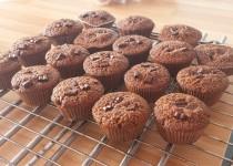 Muffins tout chocolat (MélanieSC)