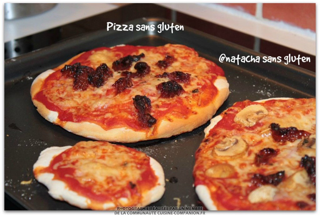 P te pizza sans gluten natacha no gluten recette - Livre de cuisine sans gluten ...
