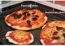 Pâte à pizza sans gluten (Natacha No Gluten)