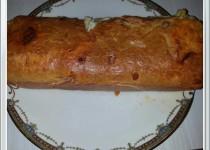 Cake salé jambon chorizo (Aureline95)