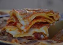 Lasagnes à la basquaise : poivron/chorizo/fromage de brebis (MaëvaB)