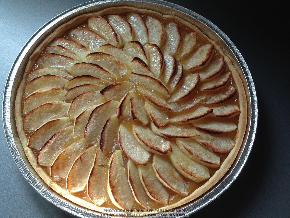 tarte aux pommes (valérie cuisine) - recette cuisine companion