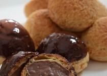 Choux à la crème pâtissière au chocolat (MaëvaB)