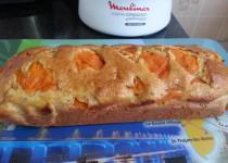 Cake allégé aux abricots, amandes et miel (SéverineS)