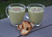 Soupe glacée de courgettes au boursin (MaëvaB)