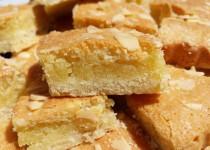 Carrés aux amandes allégés en beurre (ElodieN)