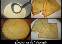 Crêpes au lait d'amande (Vir Ginie)