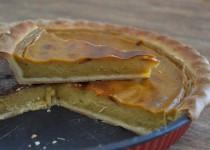 Flan à la pâte de praliné amandes et noisettes (MaëvaB)