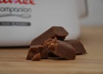 Lingots croustillants chocolat/streusel à la noisette (MaëvaB)