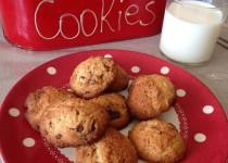 Cookies à la noisette et chunks de chocolat (Valvanille)