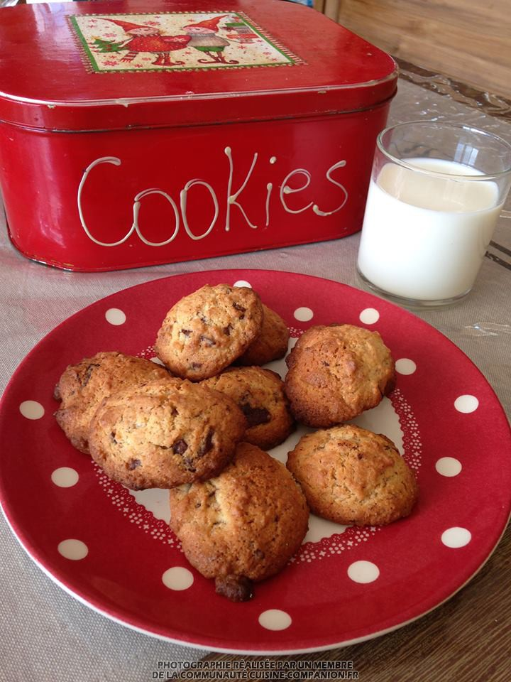 Cookies-valvanille