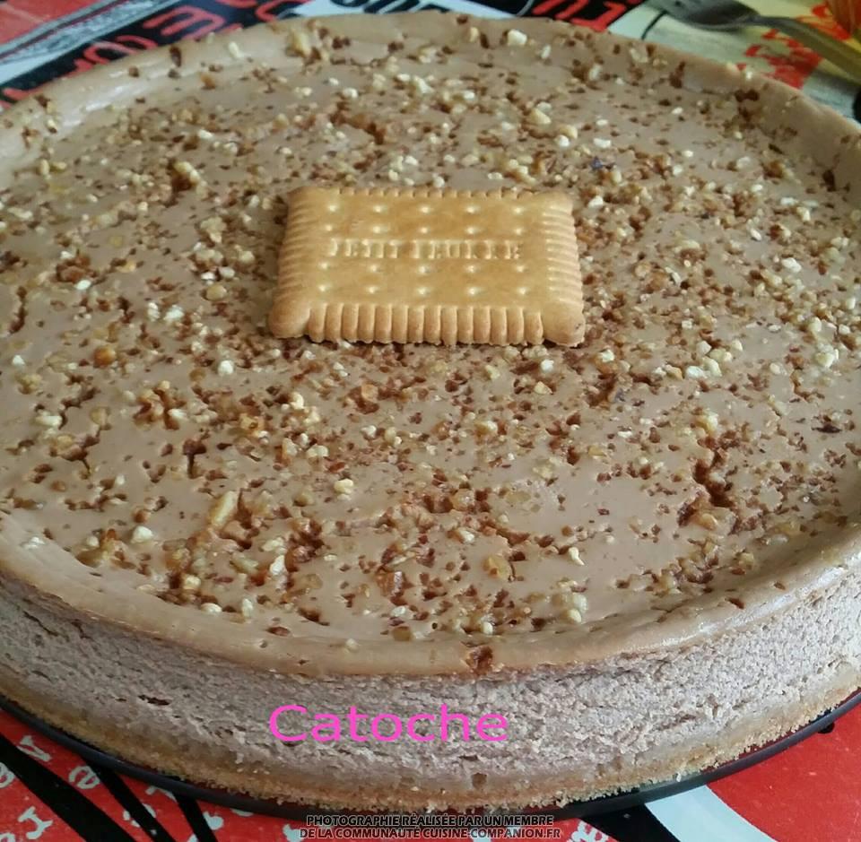 cheesecake feuillet pralin catoche recette cuisine companion. Black Bedroom Furniture Sets. Home Design Ideas