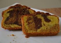 Marbré chocolat et pâte de praliné (MaëvaB)