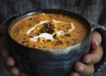 Soupe de légumes au butternut